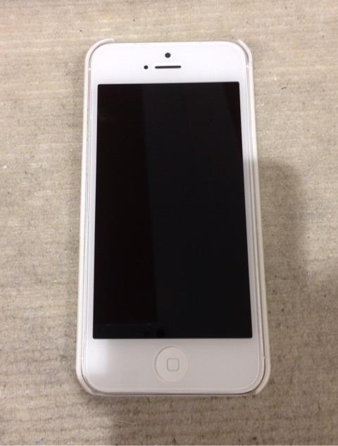 iPhone5画面交換完了
