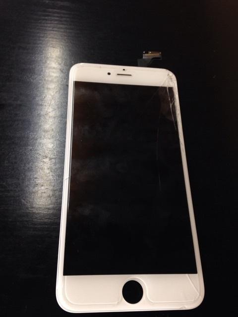 iPhone6Plus画面割れ