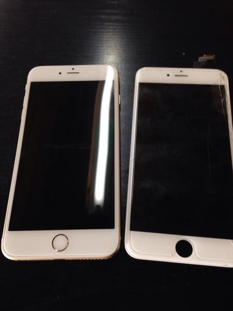 iPhone6Plus画面交換完了